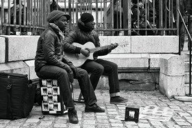 straatmuzikanten - Paris