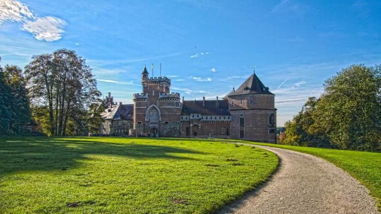 Hdr-opname van het kasteel van Gaasbeek