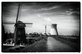 Molen + kerncentrale