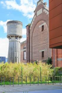 Watertoren en ophaalgebouw